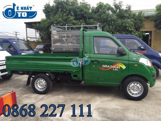 Xe máy, mô tô: Mua xe tải nhỏ 990kg - Xe Foton 990kg T3 1.5L khuyến mại 100% phí 1-4-533x400