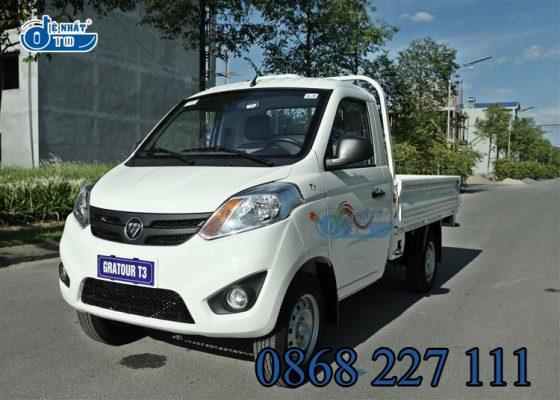 Xe máy, mô tô: Mua xe tải nhỏ 990kg - Xe Foton 990kg T3 1.5L khuyến mại 100% phí 2-1-560x400