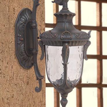 Mẫu đèn tường thủy tinh trang trí ngoài trời nhập khẩu chính hãng Den-tuong-thuy-tinh-ngoai-troi-ROL493