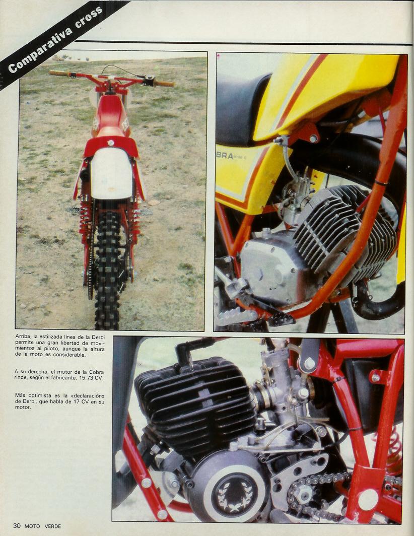Derbi CR 82 - Comparativa Con Puch M-82 C Moto_verde_46_mayo_1982_05