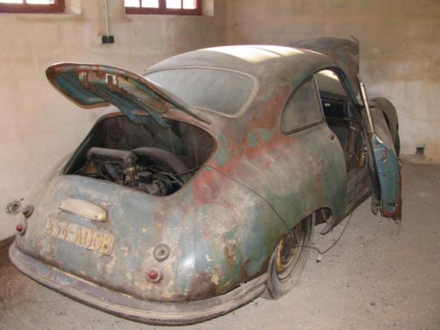 Photos de Porsche à restaurer 356Wreck101