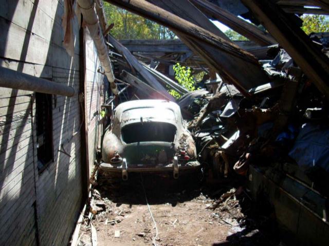 Photos de Porsche à restaurer 356Wreck107