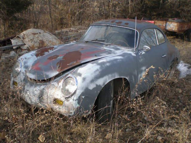 Photos de Porsche à restaurer 356Wreck108