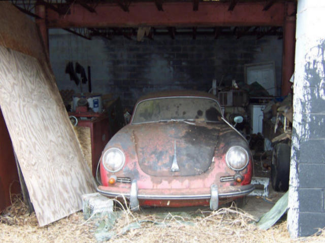 Photos de Porsche à restaurer 356Wreck118
