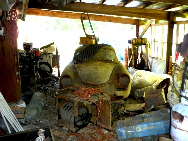 Photos de Porsche à restaurer 356Wreck133