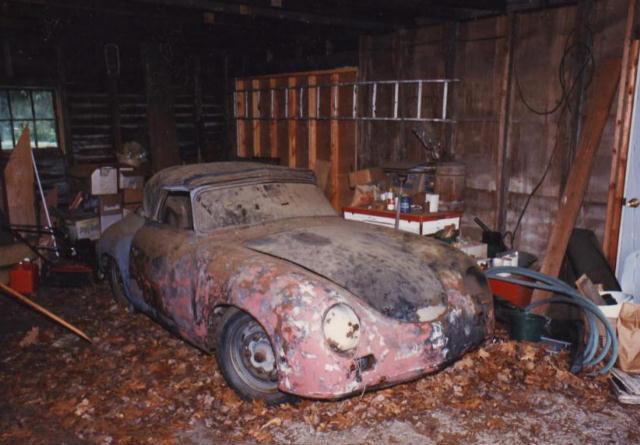 Photos de Porsche à restaurer 356Wreck144