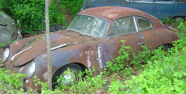 Photos de Porsche à restaurer 356Wreck24
