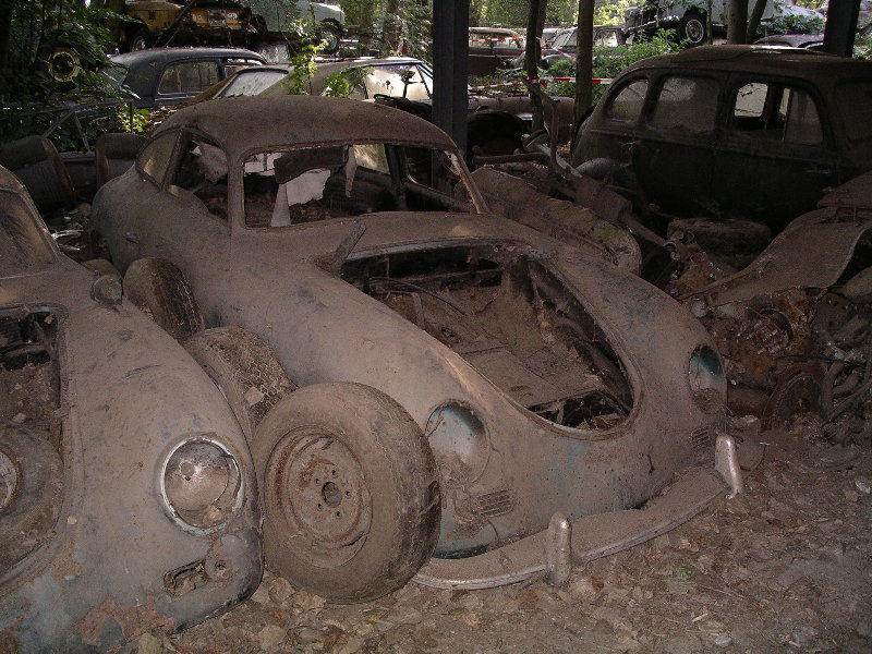 Photos de Porsche à restaurer 356Wreck65