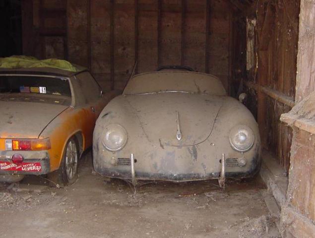 Photos de Porsche à restaurer 356Wreck77