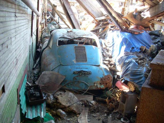 Photos de Porsche à restaurer 356Wreck78
