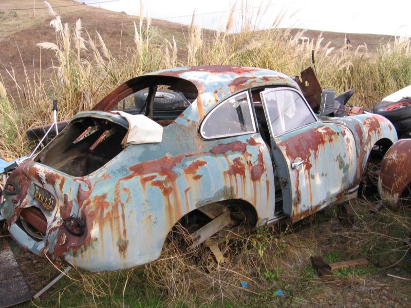 Photos de Porsche à restaurer 356Wreck80