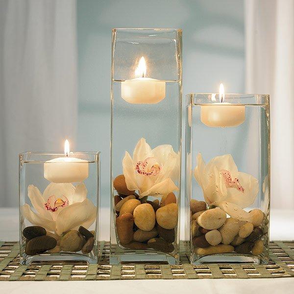 Plamen  svece Candle-flower-stylishweddingfavors