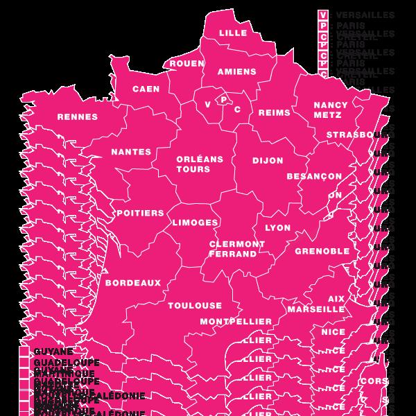Les académies pourraient fusionner comme les régions Carte-de-france-600x600