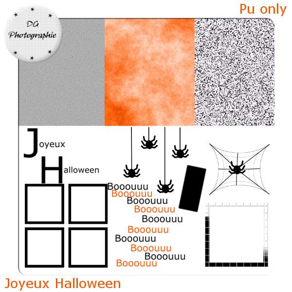 joyeux halloween PVJOYEUX-HALLOWEEN