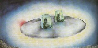 """""""Une hantise de boule lumineuses"""" Par Fernand Lagarde 1967france"""