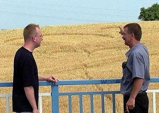 La rencontre de Lech Chacinski (Pologne - 2003) Tracecrop2