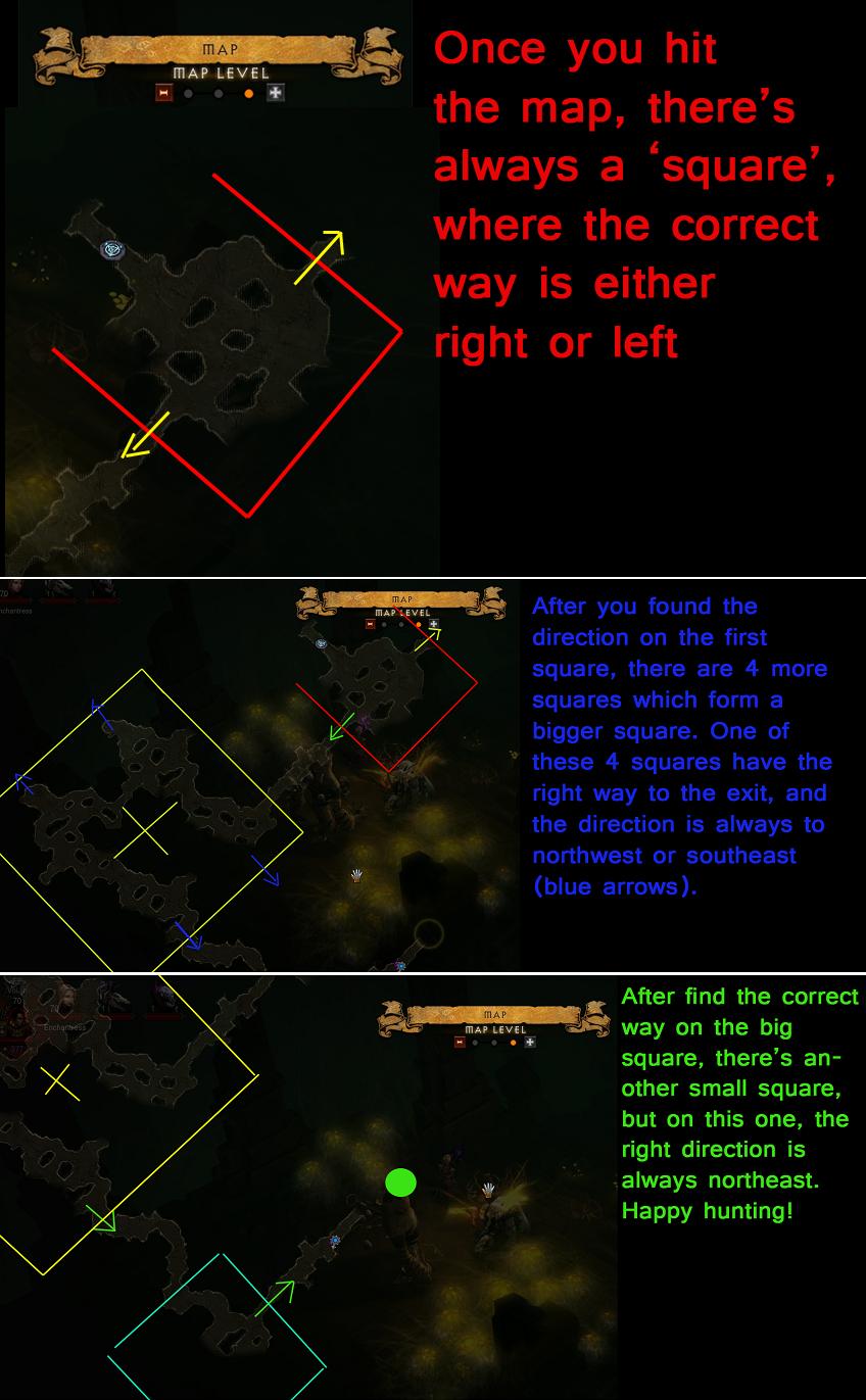[GUIDE] Comment ne pas se perdre dans la grotte d' Aranea 76