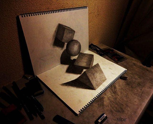 Dibujos vivos Dibujos-a-lapiz-en-tercera-dimension-5