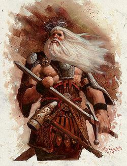 Один - верховный бог  скандинавской мифологии 250px-tyr_p81