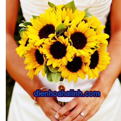 Ba màu hoa cưới đẹp nhất của Điện hoa Hà Linh 673245_Sunflower-Bouquet-250x375