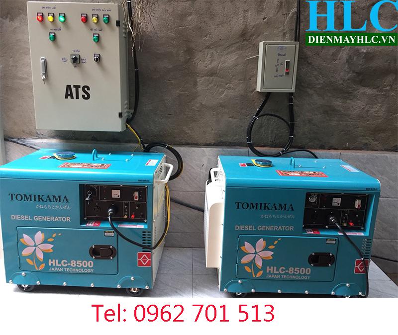 Máy phát điện chạy dầu Tomikama HLC 8500 85002