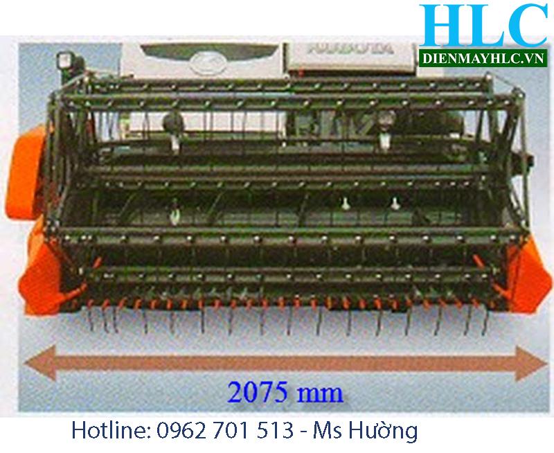 Diễn đàn nhà báo trẻ: Máy gặt lúa liên hợp kubota DC70 - công suất lớn  Kubota-DC70-1