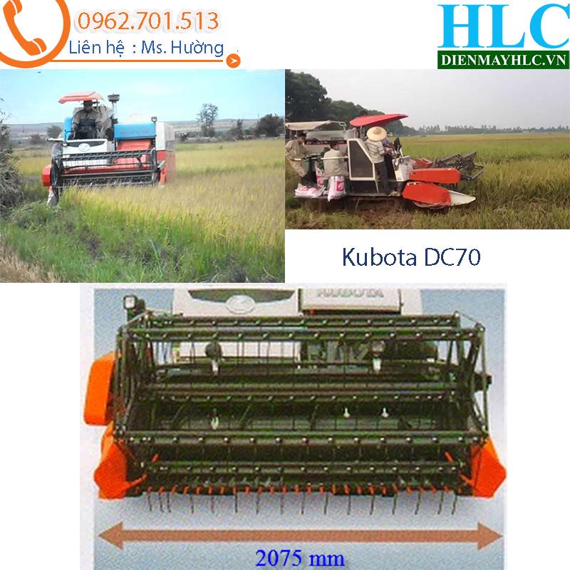 Diễn đàn nhà báo trẻ: Máy gặt lúa liên hợp kubota DC70 - công suất lớn  Kubota-DC70-4