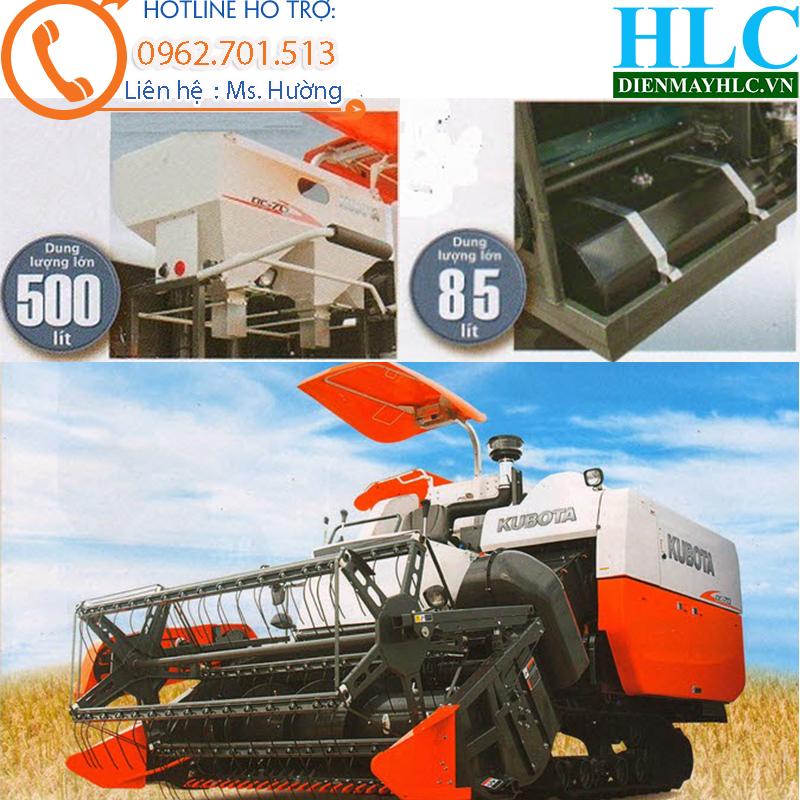 Diễn đàn nhà báo trẻ: Máy gặt lúa liên hợp kubota DC70 - công suất lớn  Kubota-DC703