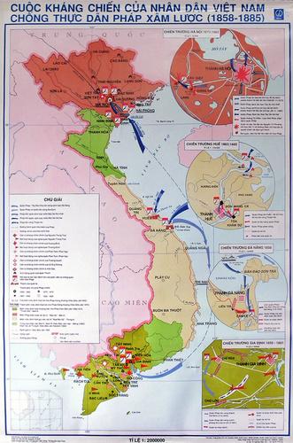 Sử 11-Bài 19 : Nhân dân Việt Nam kháng chiến chống Pháp xâm lược (từ 1958 đến trước 1873) Chong_phap_xam_luoc_500