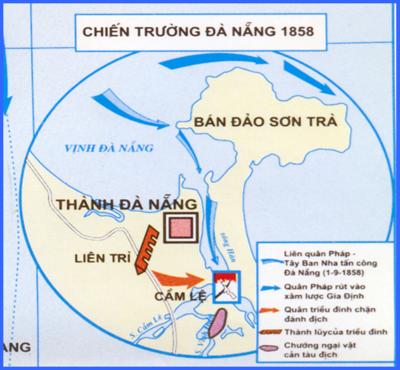 Sử 11-Bài 19 : Nhân dân Việt Nam kháng chiến chống Pháp xâm lược (từ 1958 đến trước 1873) Dea_nang_400