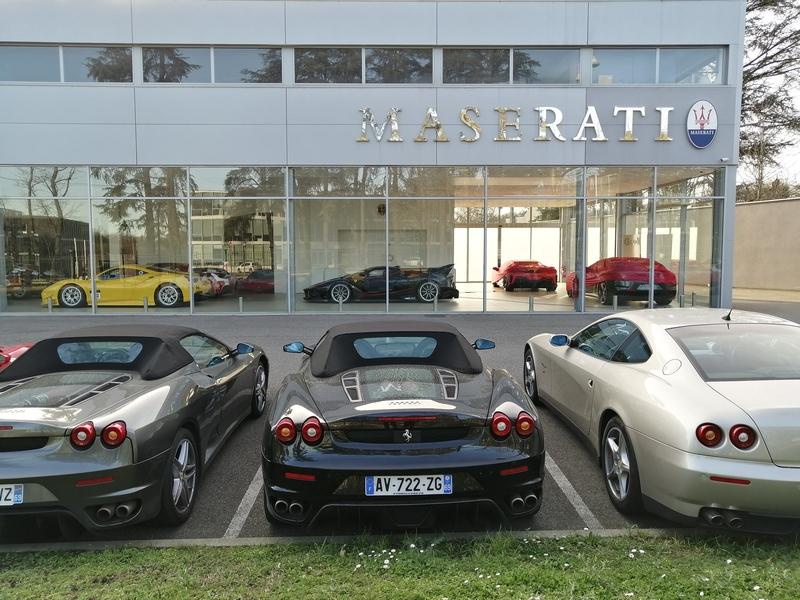 [Concession Maserati] Suppression de la licence de vente à Gauduel Maserati-Gauduel