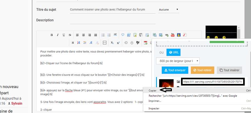 Comment insérer des photos dans un message ? (v2) Post-pht-5