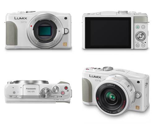 Nouveau Panasonic Lumix G6 - Page 3 LumixGF6_White