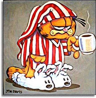 Garfield strip Garfield