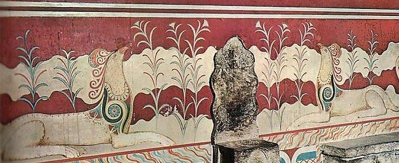 L'arte Cretese Tirreni.grifoni
