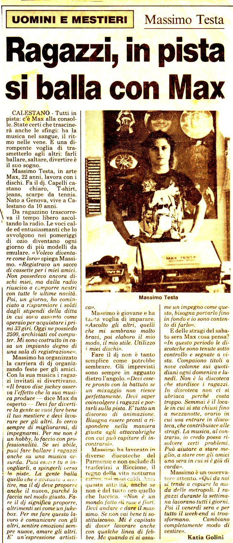 GAZZETTA DI PARMA Lunedi 5 luglio 1993 Rassegna1