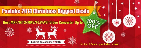 FCP - Sony XDCAM Transfer to Final Cut Pro 6/7/X Pavtube-2014-christmas-video2