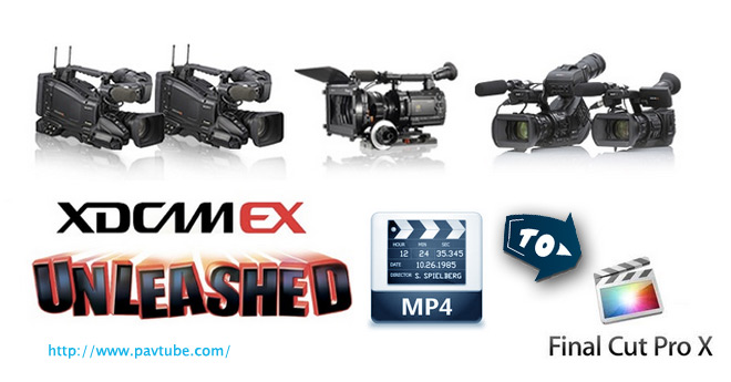 FCP - Sony XDCAM Transfer to Final Cut Pro 6/7/X Import-sony-xdcam-ex-mp4-to-FCP-x