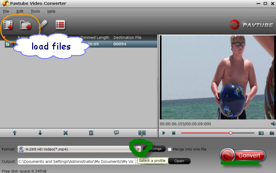 How to play Sony 4K XAVC/XAVC S on QuickTime player?  Load-files2