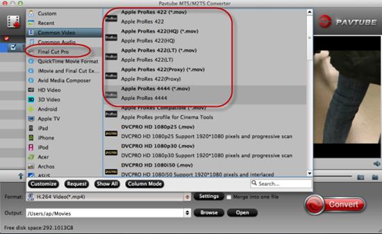panasonic - Panasonic HC-VX870 AVCHD MTS to FCP Workflow  Mts-choose