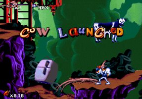 Fonts and the 'feel' of a game Earthworm-jim
