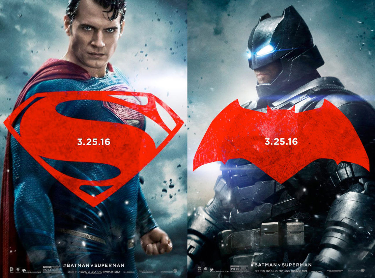 [GANADORES SORTEO] BATMAN V SUPERMAN: Celebración del Dawn of Justice Gallery-1450367601-bvs-superman-batman-poster