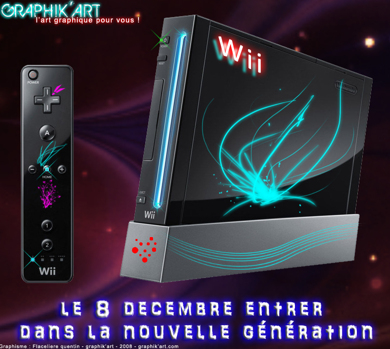 MES CREATIONS THP21 Wii-noire