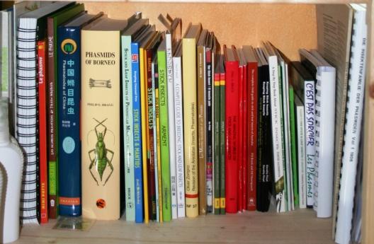 Livres sur le Phasmes et les insectes en général BiblioFT