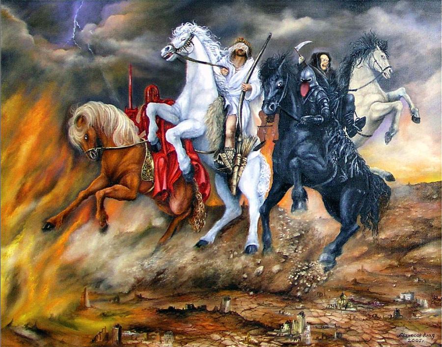 И явятся четыре всадника апокалипсиса Edc195ac9208a27dbfecaecf63349095