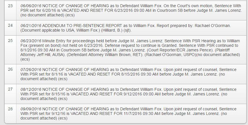 Sentencing Day for Bill Fox -TNT  Tony's Partner in the 14DailyPlus Scam William-fox-court-update