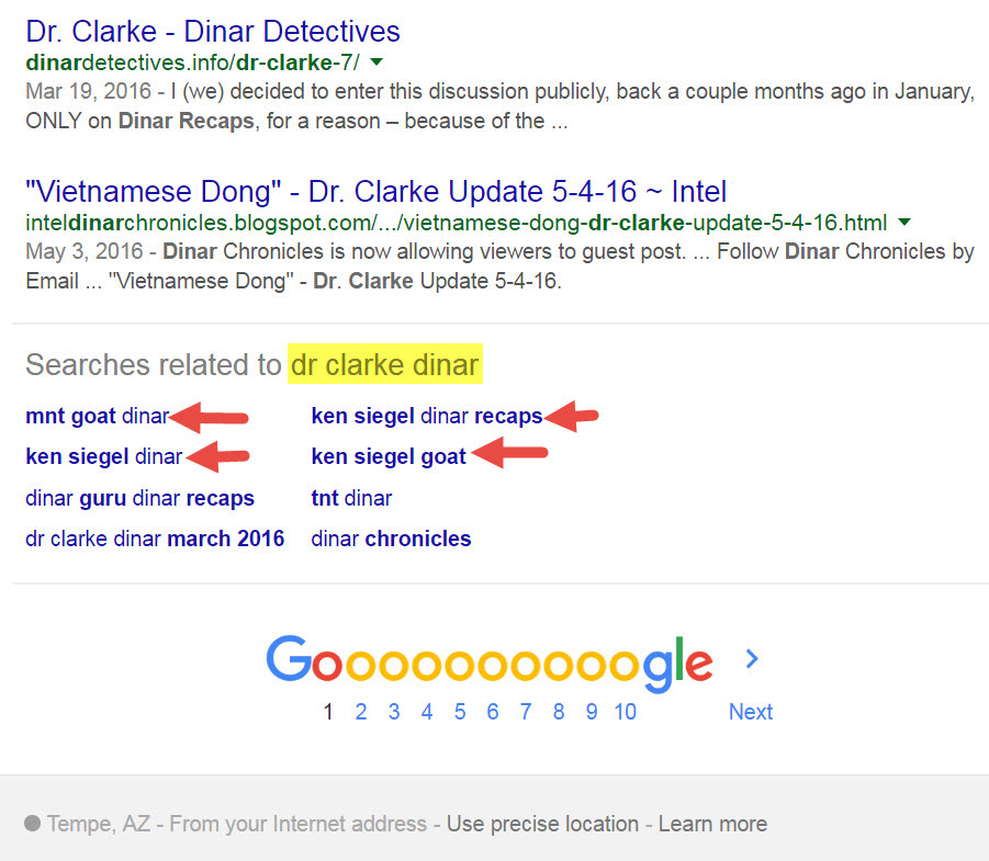 Siegel Name Has Origins In Bavaria - 2011-2013 Mnt Goat Posts - Google Ties Ken, Goat, Dr Clarke Together Related-searches-dr-clarke-dinar