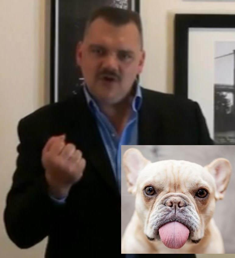 Dinar Guru DUI - Dan Atkinson - Checkmate - Peoples Talk Radio Dan-Atkinson-French-Bulldog