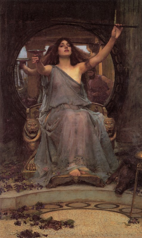 Galerie de Portraits - Page 4 Waterhuse_Circe_offering_the_Cup_to_Ulysses1