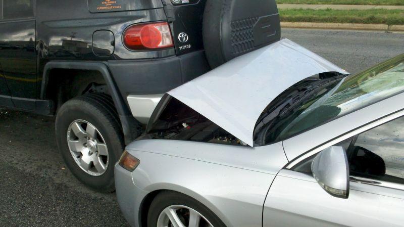 MY FJ Bumper testing Antitheftdev